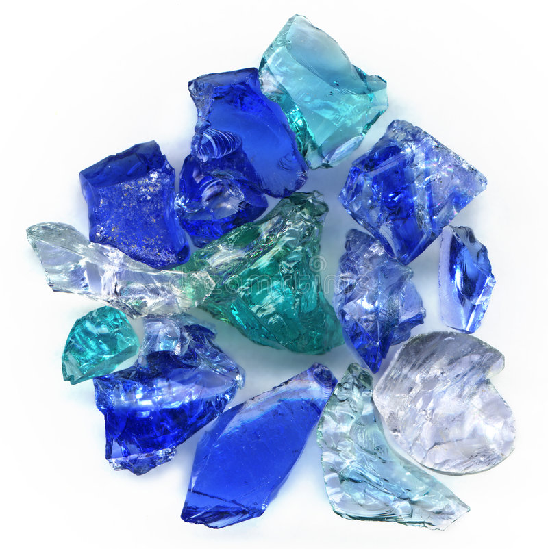 glass stenar royaltyfria bilder