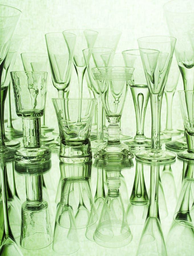 Glass Still Life Stock Image