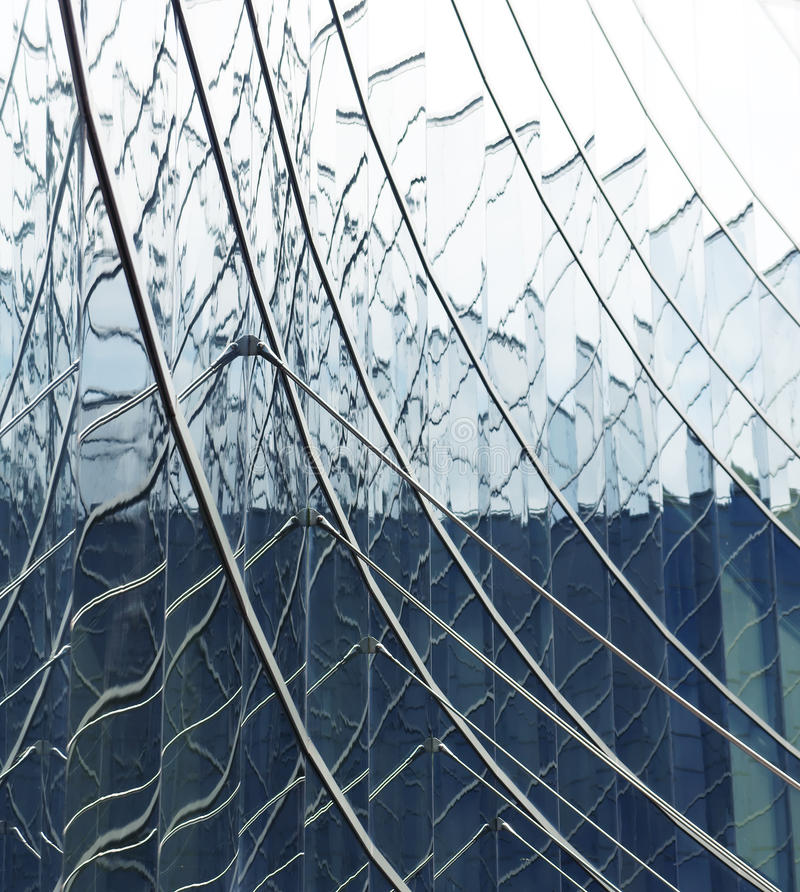 Glass Struture royalty free stock images