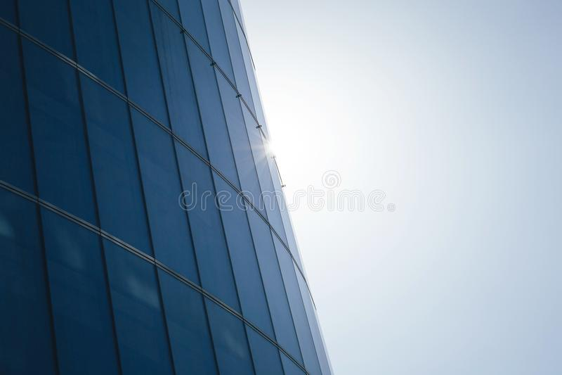 Glass Surface of the Building royalty free stock photo