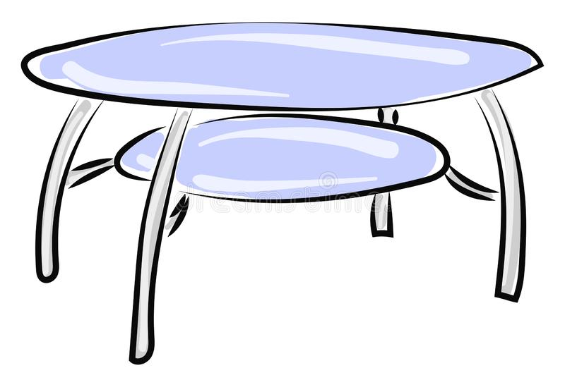 Circle Glass Table Stock Illustrations 1 610 Circle Glass Table