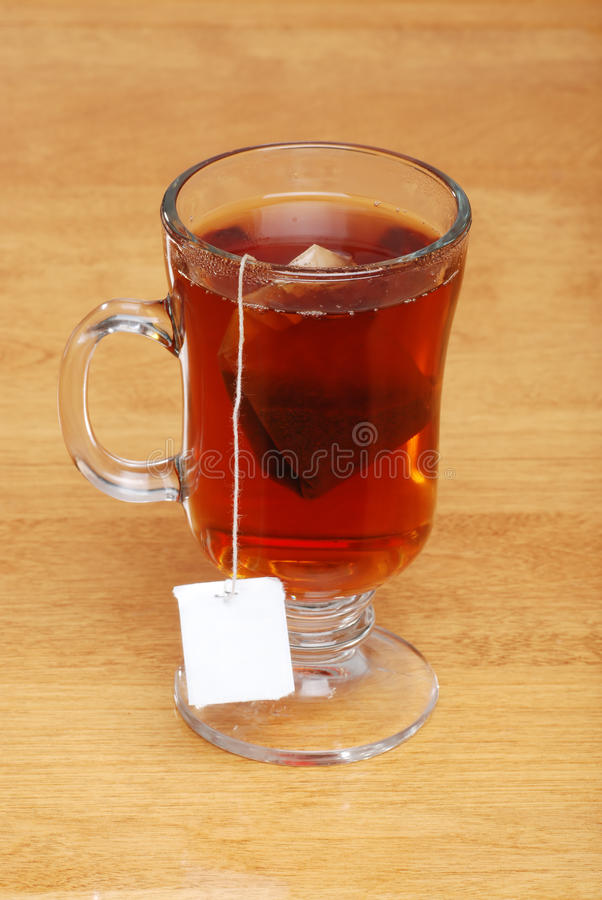 Glass Tea Mug With Bag