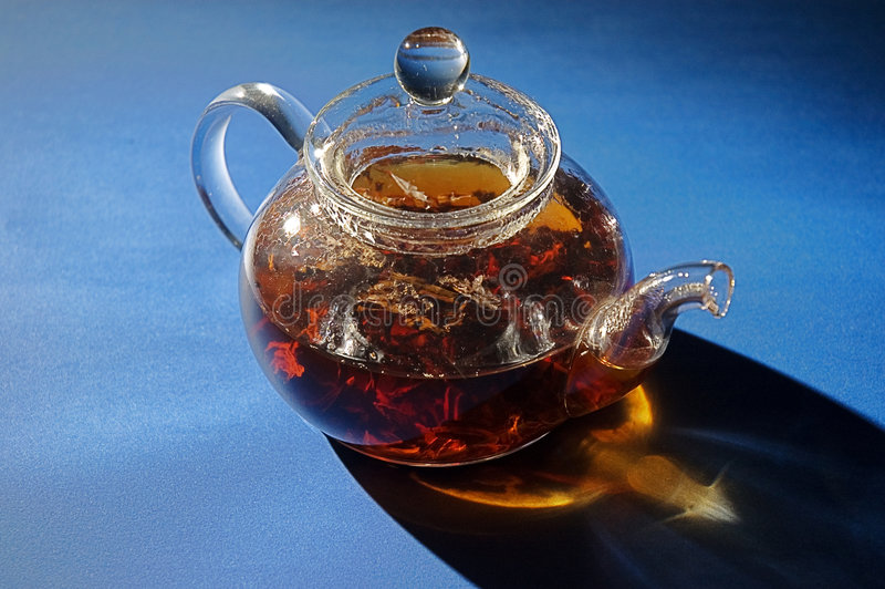 Download Glass Tea Pot Stock Photo - Image: 7153110