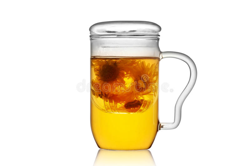 Download Glass teacup stock image. Image of transparent, brewing - 22298115
