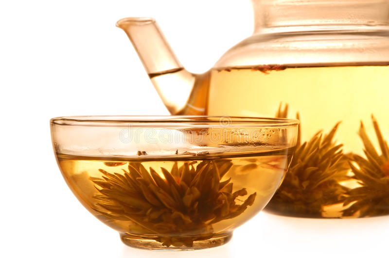 Download Glass Teapot And Cup Stock Image - Image: 9536941
