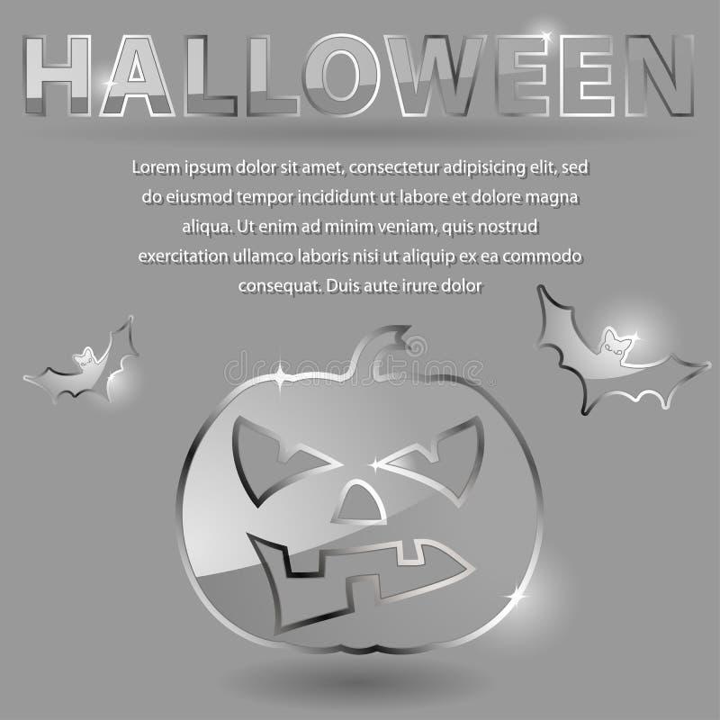 Glass theme for Halloween