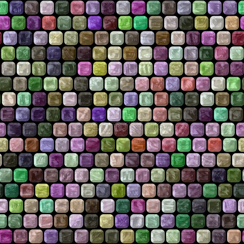 Glass Tiles Seamless Generated Hires Texture Stock Illustration