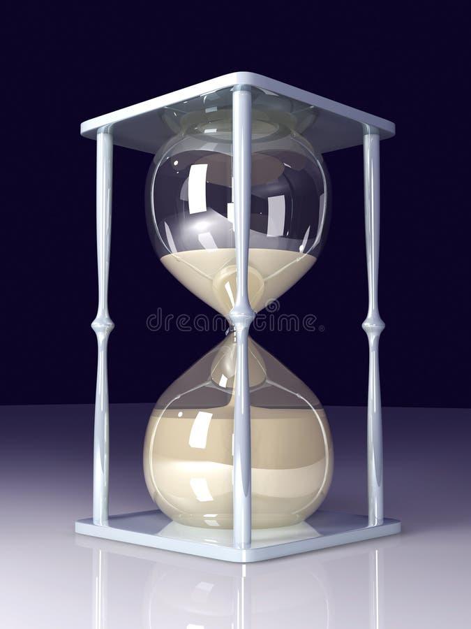 glass timme stock illustrationer