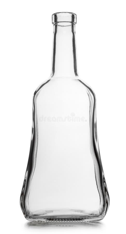 Glass tomglas royaltyfri fotografi