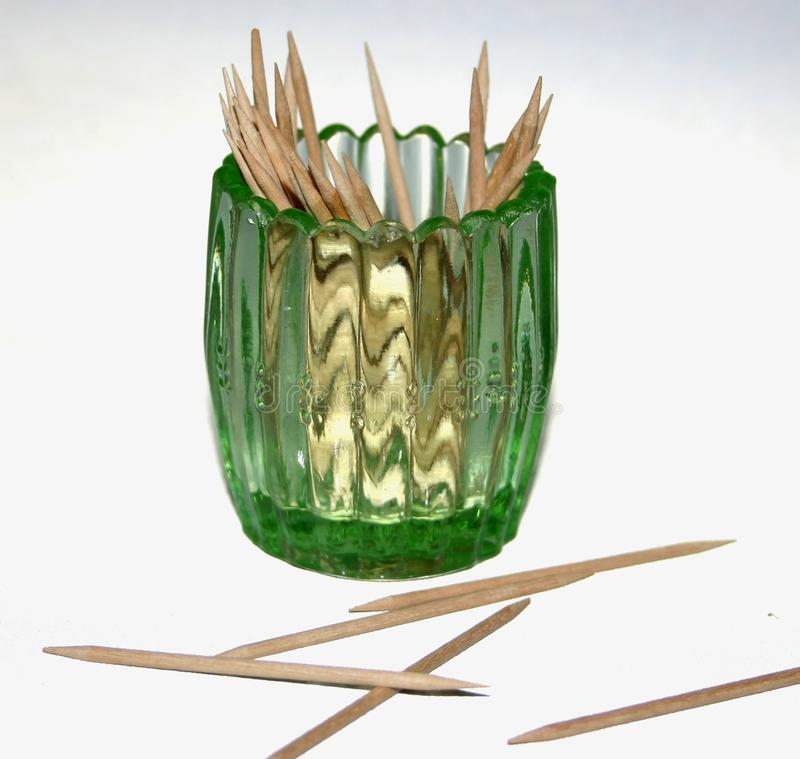 Glass Toothpick Holder