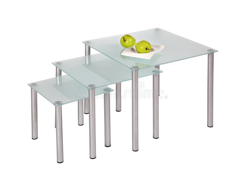 Download Glass top dining tables stock image. Image of cutout - 18594533