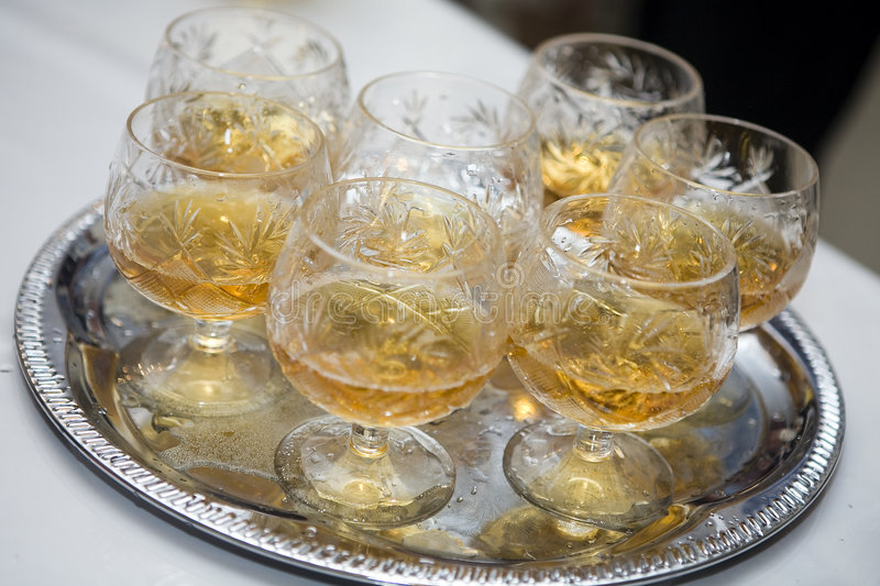 Download Glass On Tray Stock Photos - Image: 6698133