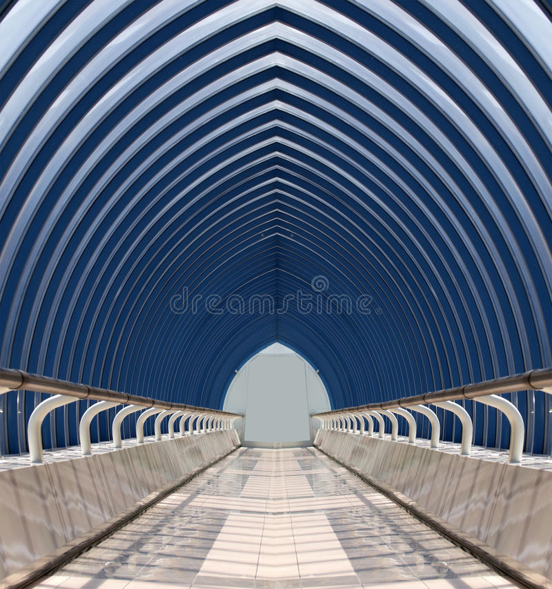 Glass tunnel stock photos