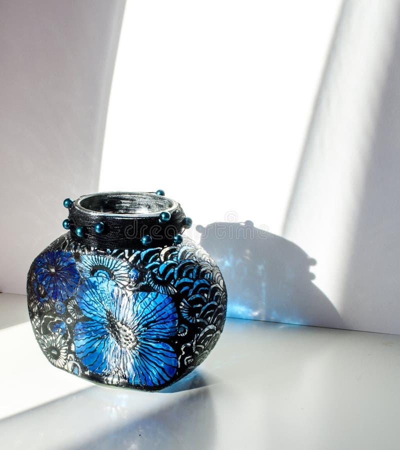 A glass vase stock photos