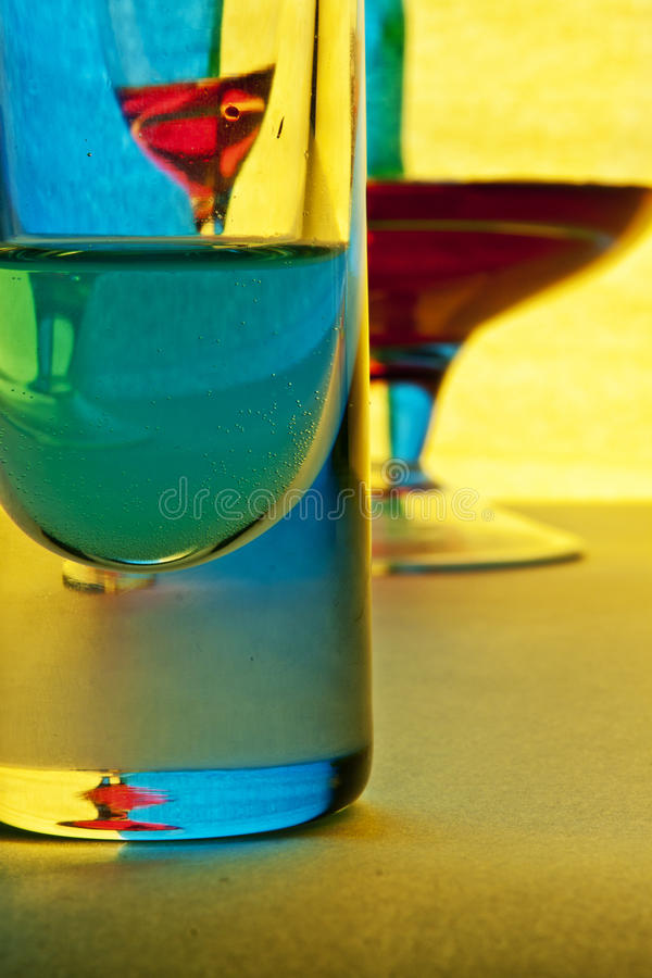 Glass vessel royalty free stock image