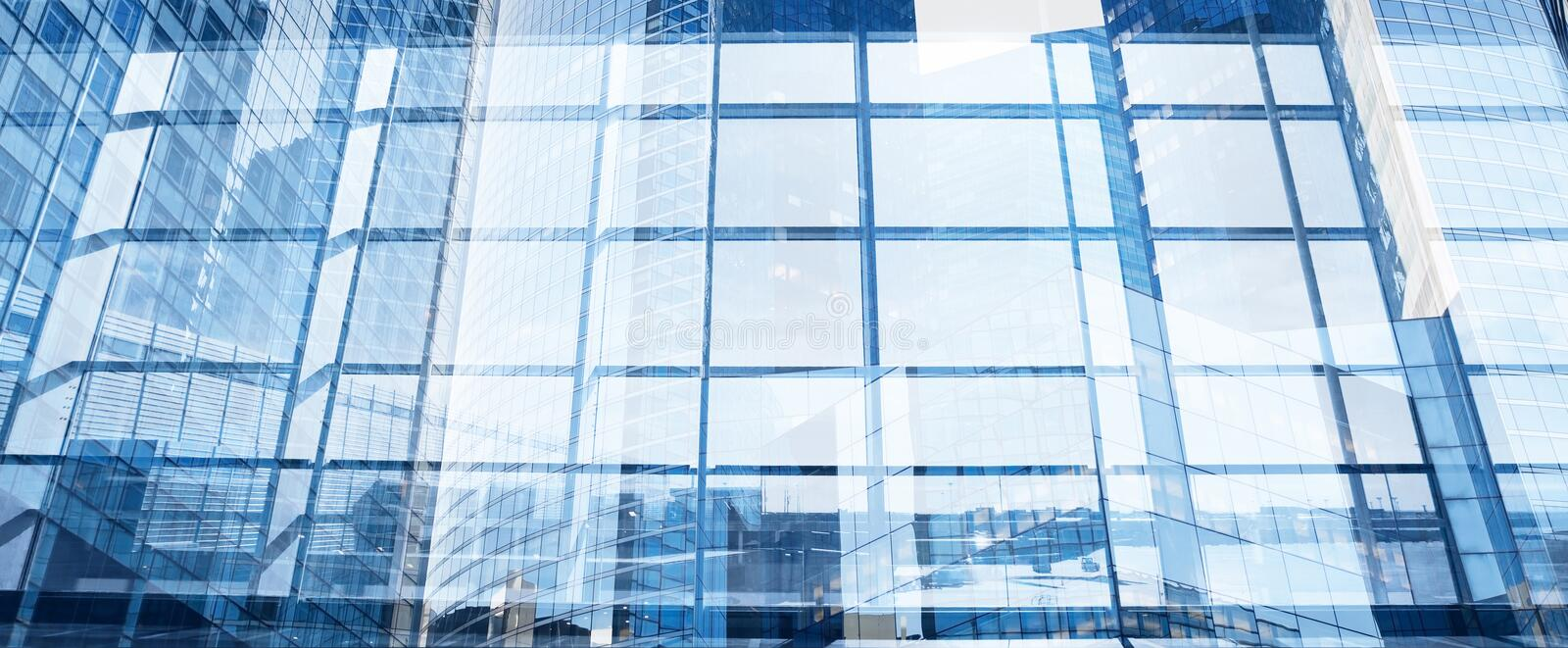 Abstract modern business background banner royalty free stock photography