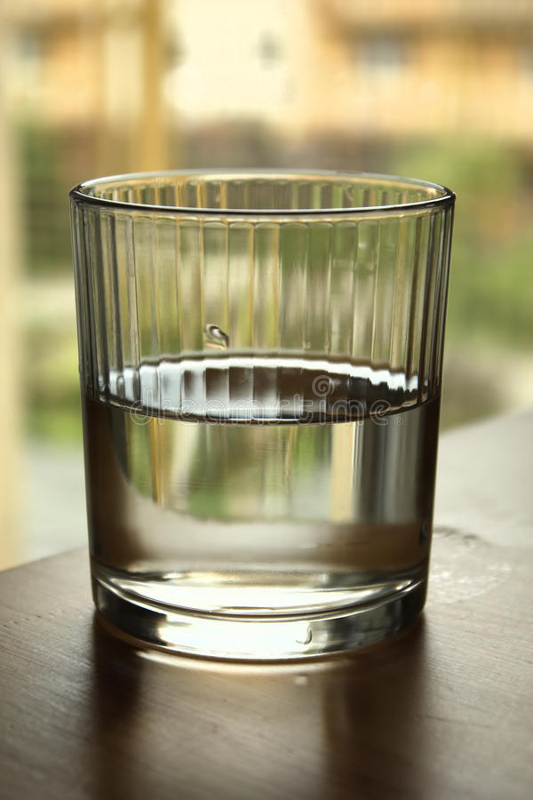Glass of water royalty free stock image