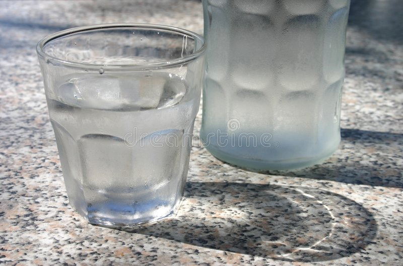 Download Glass of Water stock photo. Image of hydration, refreshing - 255706