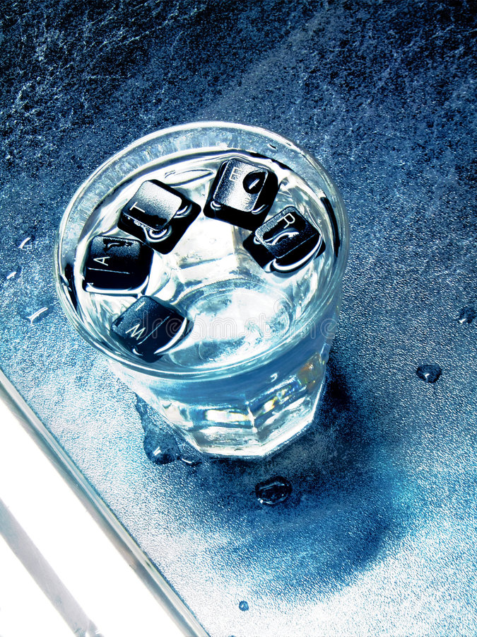 Download Glass of water stock photo. Image of beverage, liquid - 2749954