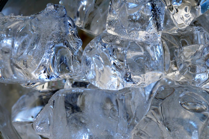 Download Glass of water. stock image. Image of frozen, crystal - 27588931