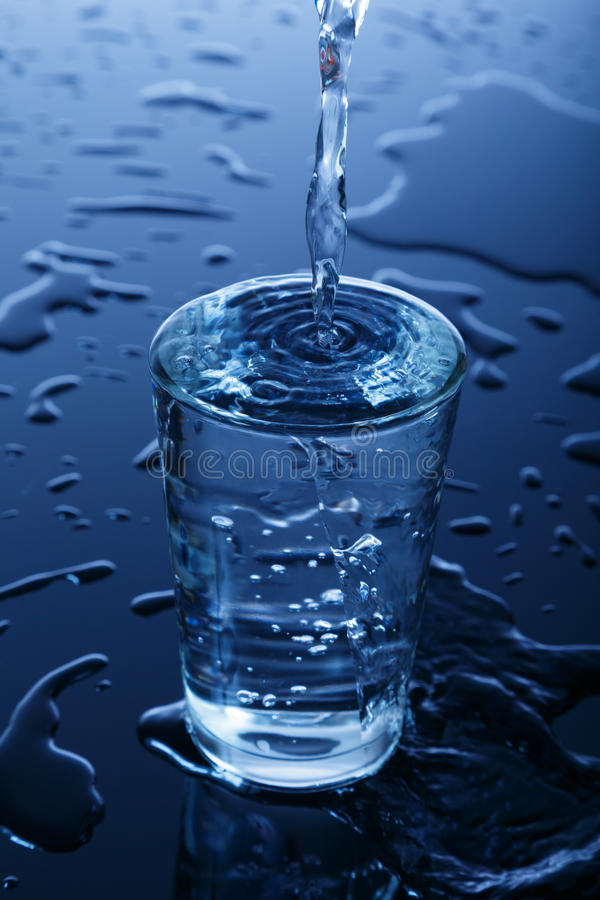 Download Glass of water stock photo. Image of glass, drink, drops - 28333460