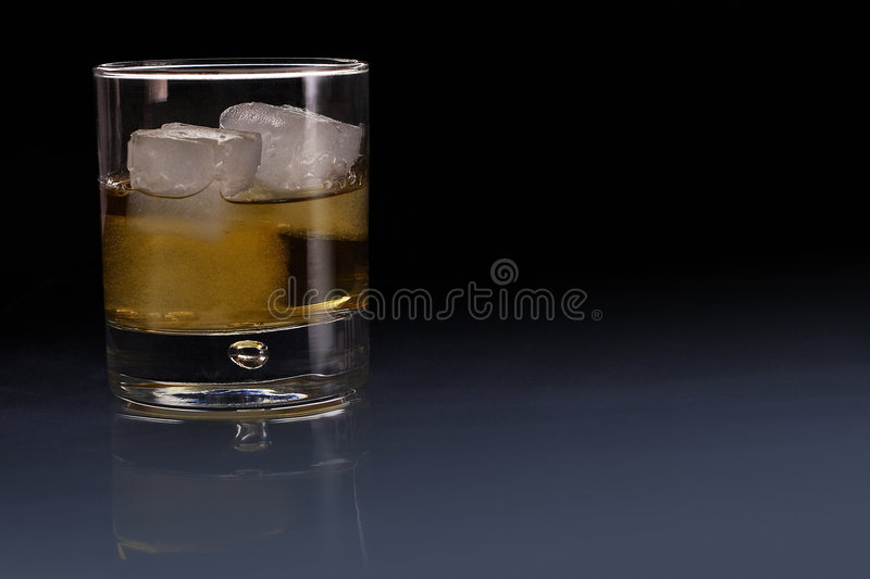 Glass of Whisky royalty free stock images
