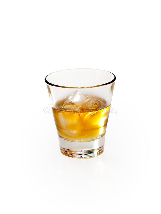 Glass of whisky. stock photos