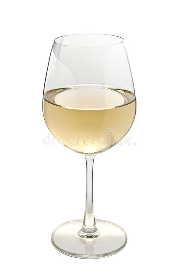 Download Glass of white wine stock photo. Image of wine, isolated - 18246702