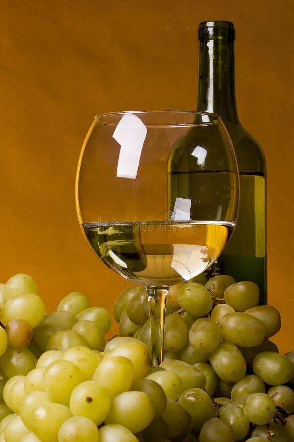 Glass Of White Wine Stock Photos