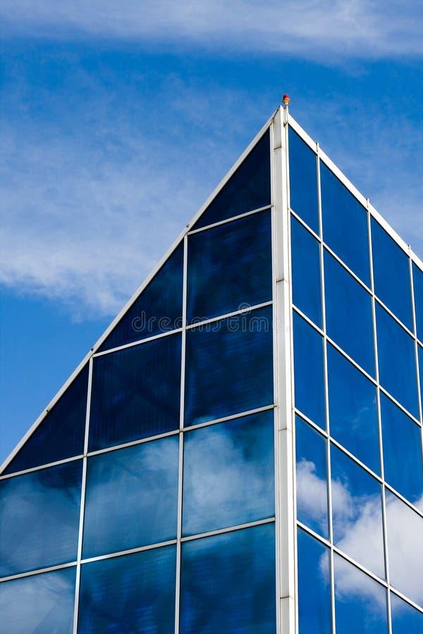 Glass Windows Facade stock image