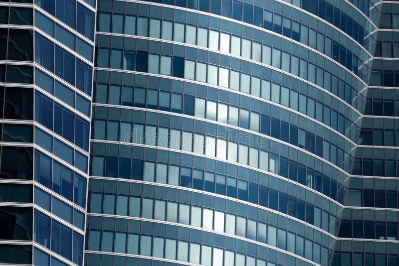 Glass windows stock image