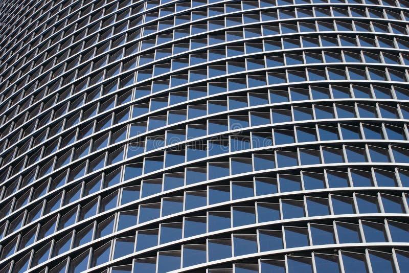 Glass windows of a skyscraper. Glass windows of modern skyscraper stock images