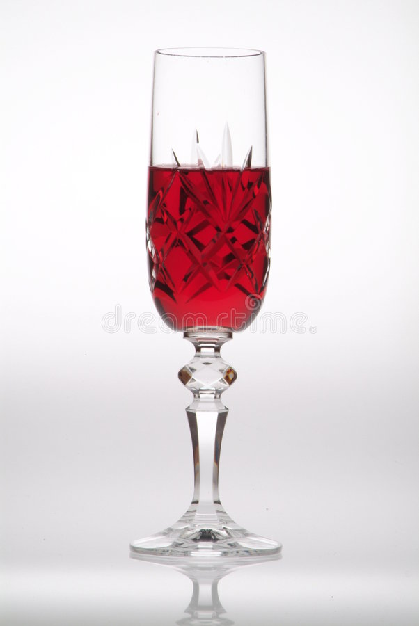 Glass of wine royalty free stock images
