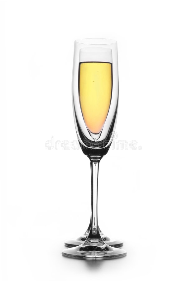 Glass of Wine stock images