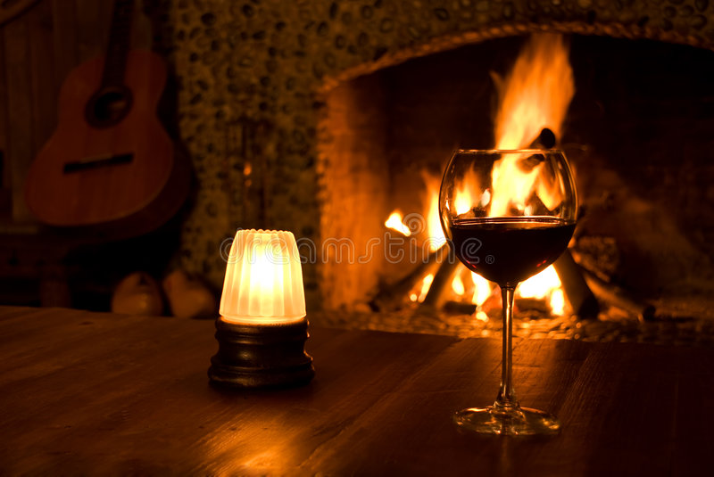 Download Glass of Wine stock image. Image of holiday, glow, glass - 8392113