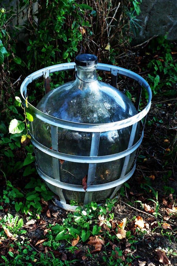 Glass Wine Maker stock image