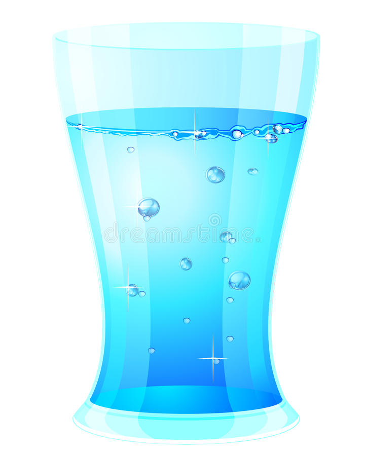 Free Glass With Clear Water Stock Photos - 20522183