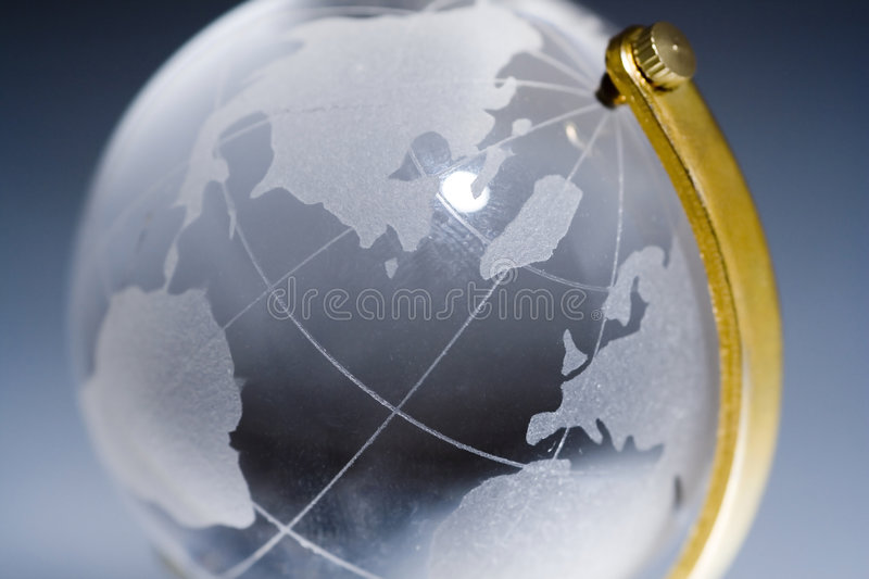 Glass world royalty free stock images
