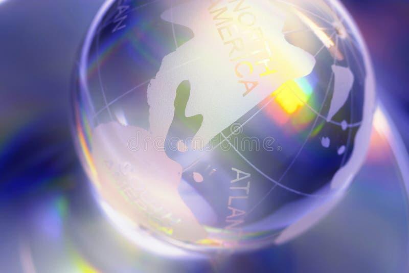 Glass world vector illustration