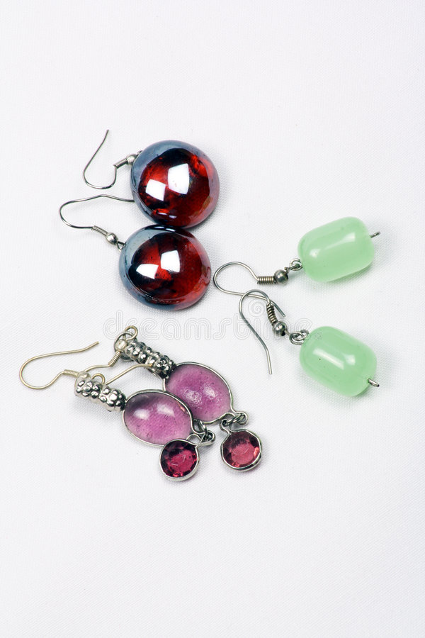 Download Glassbead Earrings Stock Photos - Image: 6338353
