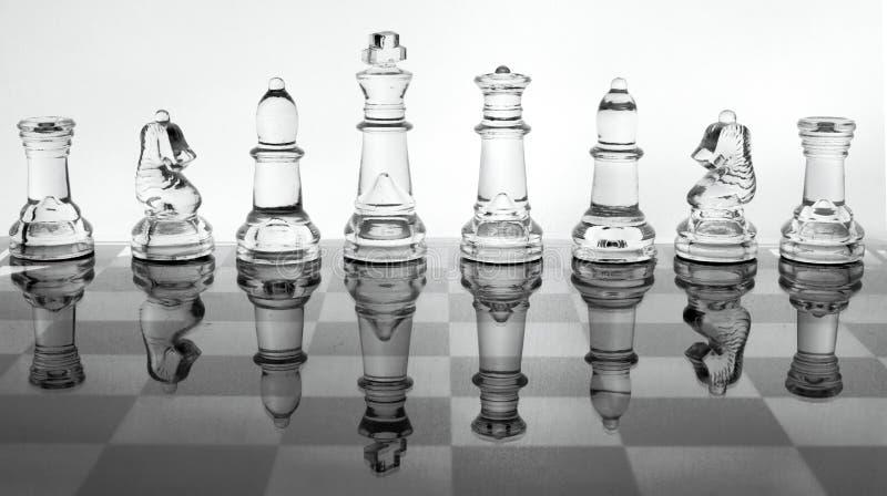 Glasschach lizenzfreies stockfoto