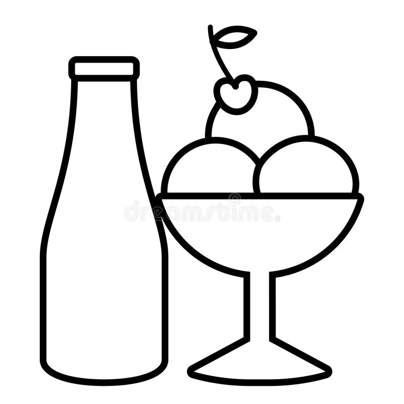 Glassdesign royaltyfri illustrationer