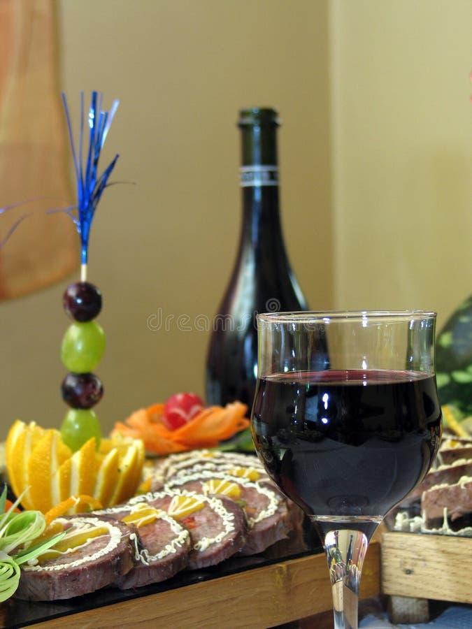 Glasse avec du vin images stock