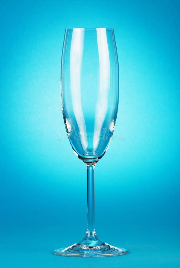 Glasse vuoto del champagne fotografie stock