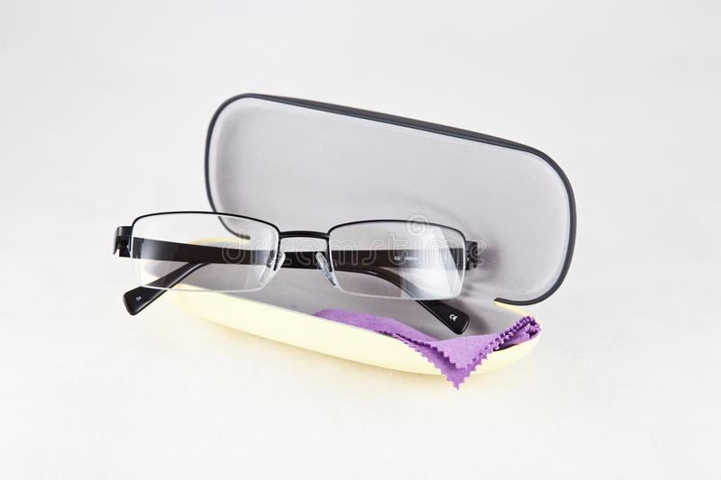 Glasses. Reading glasses for vision problem royalty free stock images