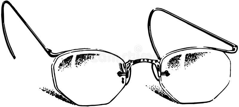 Glasses 2 royalty free illustration