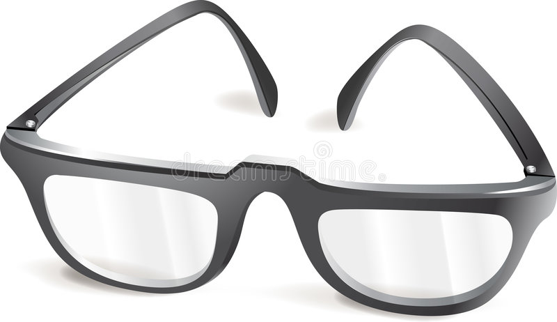 Glasses stock illustration