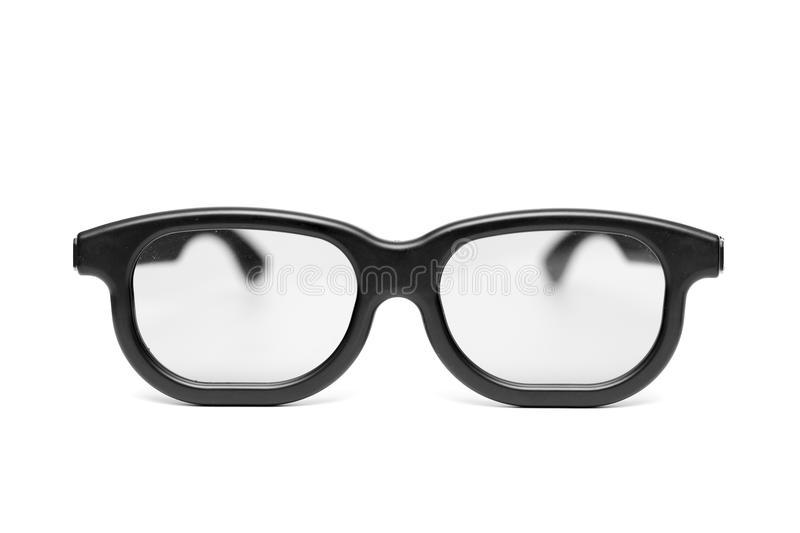 Glasses With A Black Frame Stock Image