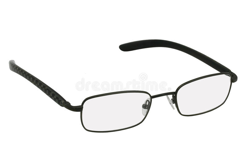 Glasses In Black Rim. Stock Image