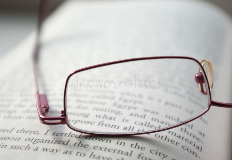 Download Glasses on a book stock image. Image of literary, college - 11510351